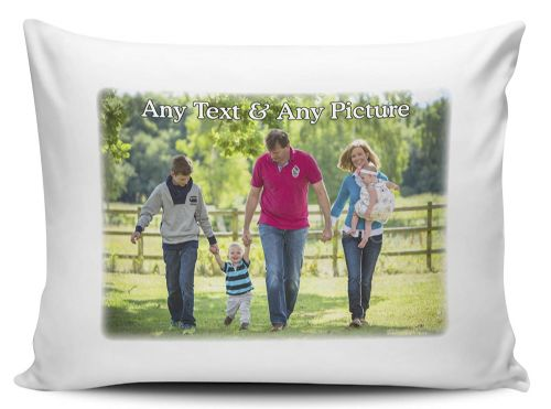 Personalised Any Name & Any Picture Pillow Case